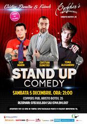 Stand-Up Comedy Sambata 5 decembrie Bucuresti