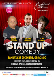 Stand-Up Comedy Sambata 26 Decembrie Bucuresti