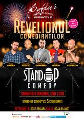 Stand-Up Comedy Revelionul Comediantilor sambata 9 Ianuarie Bucuresti