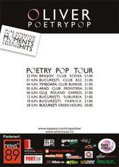 Oliver - Turneu Poetry Pop