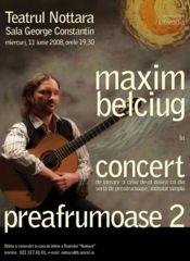 Concert de chitara - Maxim Belciug