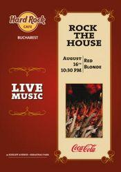 Red Blonde @ Hard Rock Cafe - Anulat