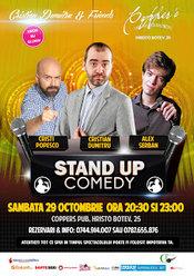 Stand-Up Comedy Sambata 29 octombrie Bucuresti