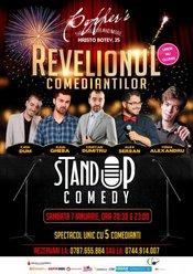 Stand-up Comedy Sambata 7 Ianuarie: Revelionul Comediantilor