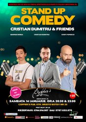 Stand-Up Comedy Sambata 14 Ianuarie Bucuresti
