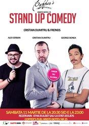 Stand-Up Comedy Sambata 11martie Bucuresti