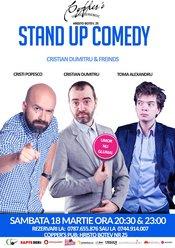 Stand-up Comedy Sambata 18 Martie Bucuresti de la 20:30 si de la 23:00
