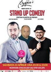Stand-Up Comedy Sambata 22 Aprilie Copper's Pub de la 20:30 si 23:00