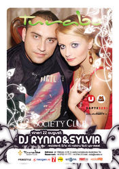 Dj Rynno& Sylvia @ Turabo Society Club