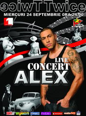 Concert Live Alex @ Twice