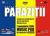 Concert PARAZITII @ Irish Music pub