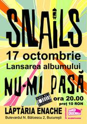Snails @ Laptaria Enache