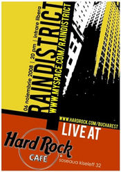 Rain District @ Hard Rock Cafe