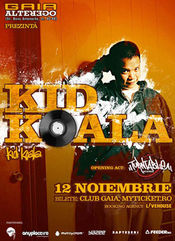 DJ Kid Koala @ Gaia Bar Lounge