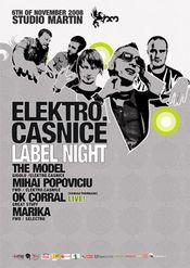 elektro.casnice label night @ Studio Martin