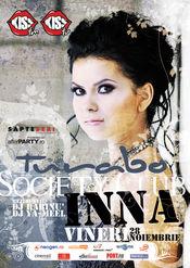 Petrecere INNA @ Turabo Society Club - Vineri 28 Noiembrie