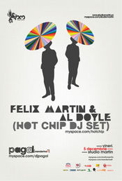 Hot Chip DJ Set @ Studio Martin