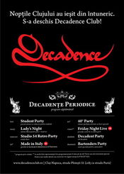 Student Party @ Decadence