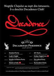 Studio 54 Retro Party @ Decadence