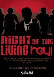Night of the Living Hey! @ Suburbia
