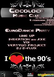 Petrecere the 90s la club Cocoloco