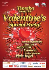 Petrecere Valentine's day in Turabo Society Club