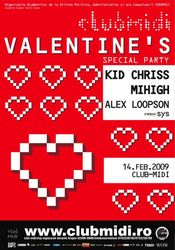 Valentines Party @ Midi