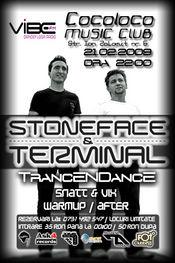 Sambata 21 februarie Stoneface & Terminal mixeaza in club Cocoloco Bucuresti