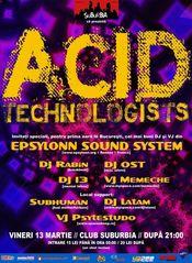 Acid Technologists @ Suburbia