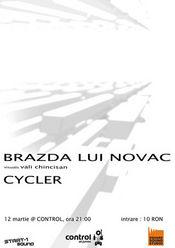 Brazda lui Novac si Cycler @ Control