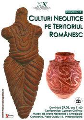 Conferinta: CULTURI NEOLITICE PE TERITORIUL ROMANESC