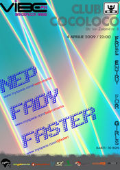 Nep / Fady / Faster @ Cocoloco