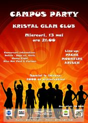Campus Party @ Kristal Glam Club