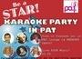 Be a STAR@Karaoke PARTY in PAT