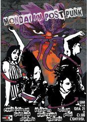 Monday I'm Post Punk @ Control
