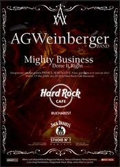 AG Weinberger te invita sa apari pe primul sau album live