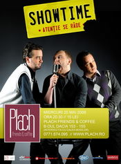 Stand-up comedy @ Plach