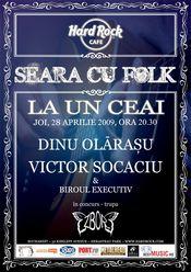 """""""La un ceai"""" cu Victor Socaciu si Dinu Olarasu la Hard Rock Cafe"""