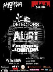 The Detectors, Alert & Fingering Joanna @ Suburbia