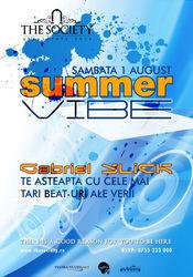 Summer VIBE @ The Society Club Piatra Neamt