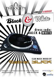 Black & White Party @ The Society Club Piatra Neamt