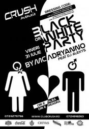 Black or White Party @ Crush