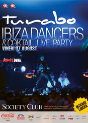 Ibiza dancers & coktail live party @ Turabo Society Club
