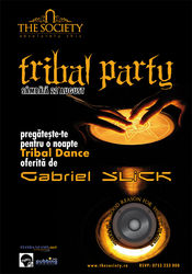 Tribal Party @ The Society Club Piatra Neamt