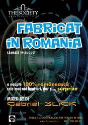 Fabricat in Romania @ The Society Club Piatra Neamt