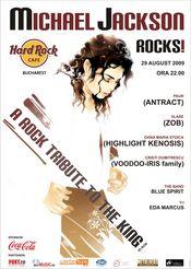 Tribut Michael Jackson la Hard Rock Cafe