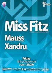 Lollipop presents Miss Fitz, Mauss, Xandru @ Studio Martin - 18 sept 2009