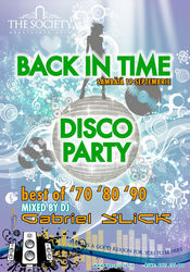 Back In Time @ The Society Club Piatra Neamt