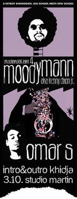 Chestionabil Joint 4: Moodymann + Omar S @ Studio Martin