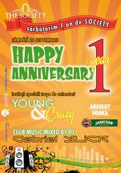 Happy Anniversary @ The Society Club Piatra Neamt